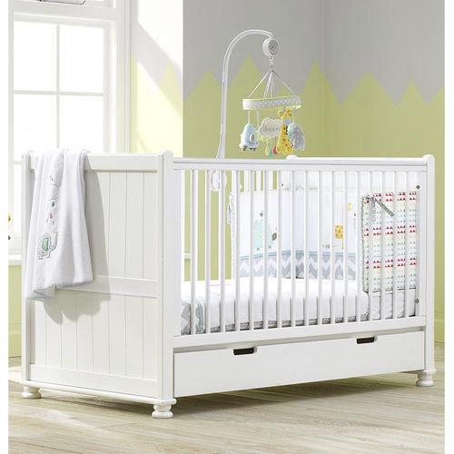 Hampton Cot Bed White