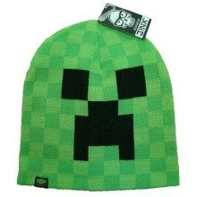 Minecraft Creeper Beanie Hat