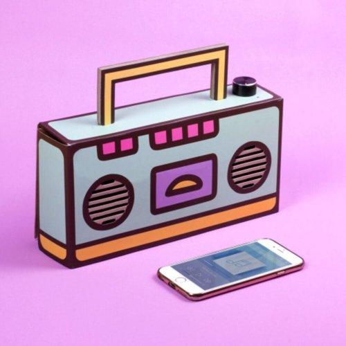 Pusheen Build Your Own Wireless Boombox Speaker