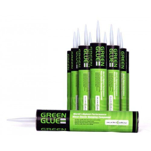 Green Glue Noiseproofing Compound, Carton of 12