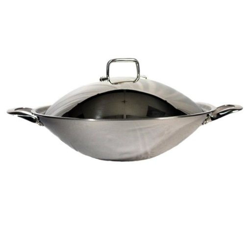 SPT SL-PA400A 18 ft. Stainless Steel Pot with Lid 2 Ears