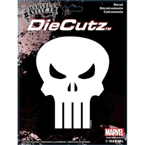 Chroma Decal C54-40007 Punisher Skull Die Cutz Decal