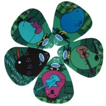 5 PCS Fingers Music Play Guitar Picks Acoustic Guitar Thickness 0.46 MM, A9