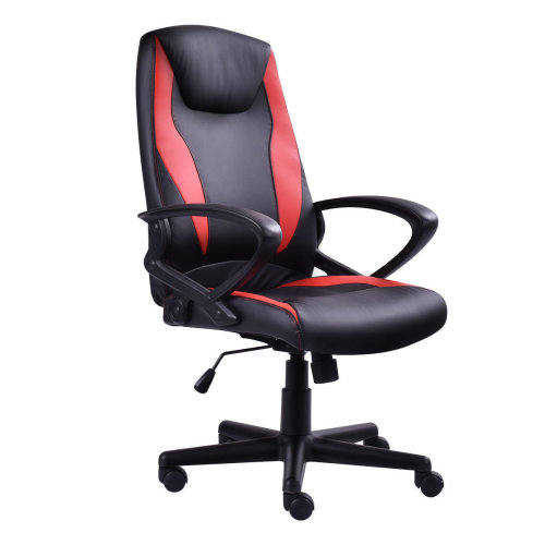 BTM Sports Racing Chair Gaming Swivel PU