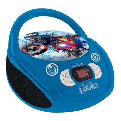 Lexibook RCD108AV Avengers Portable Boombox Radio CD Player