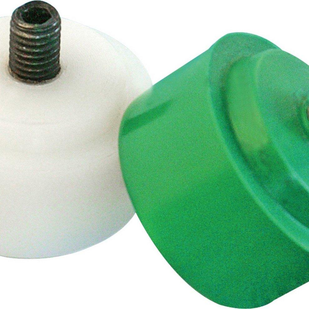 4 In 1 Interchangeable Multi-Head Nylon//Rubber Hammer 300mm Shock Absorbent NEW