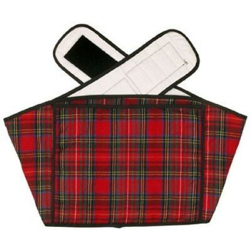 Hotties Back Wrap (Red Tartan Quilted)