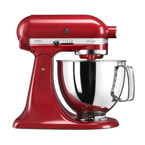 KitchenAid 5KSM125BVER Artisan Stand Food Mixer 300W Empire Red
