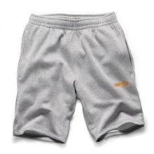 Scruffs Vintage Fleece Jogger Shorts Light Grey (Sizes S-XXL) Workwear Jogging