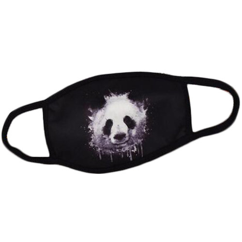 100% Cotton Fashion Dust-proof Mask Earloop Mouth Face Mask, Panda