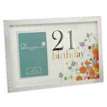21st Birthday Photo frame by Laura Darrington
