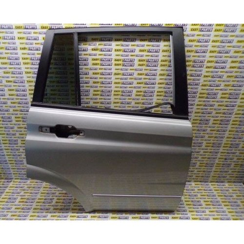 SSANGYONG KYRON DRIVER SIDE REAR DOOR WITH PRIVACY QUARTER GLASS (BARE)