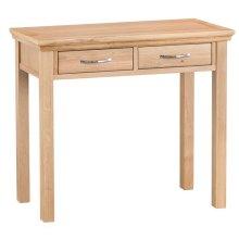 New Sherwood Oak 2 Drawer Dressing Table