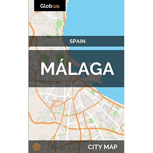 Málaga, Spain - City Map