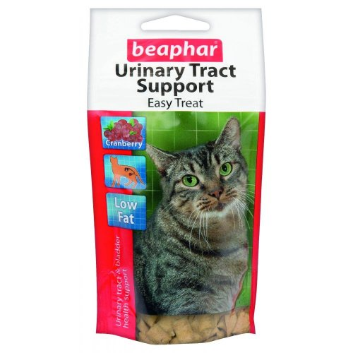 Beaphar Urinary Tract And Cystitis Support Easy Treats with Glucosamine