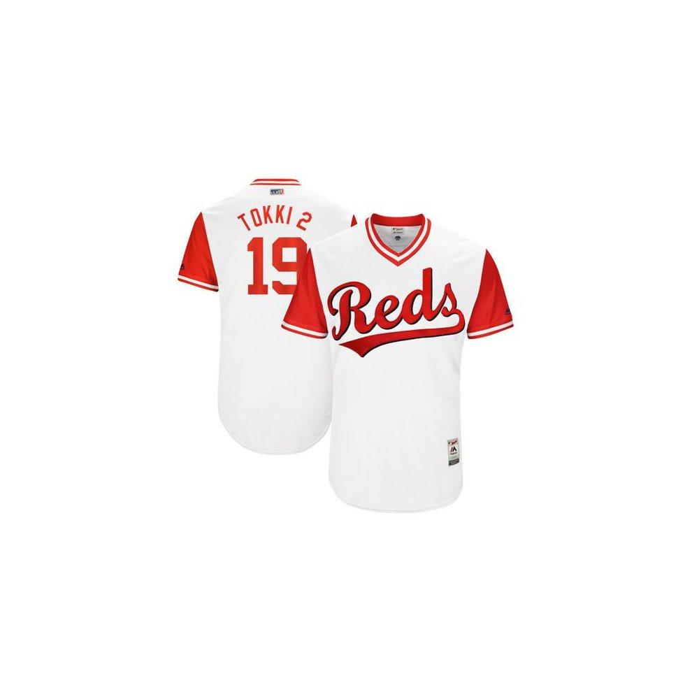 3a1054319 ... Cincinnati Reds Cool Base MLB Custom Players Weekend Jersey - 1 ...