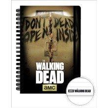 The Walking Dead Dead Inside A5 Notebook