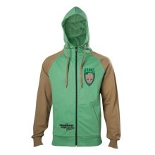 Guardians Of The Galaxy 2 Groot Hooded Zip Green/Brown L Size (HD571041GOG-L)