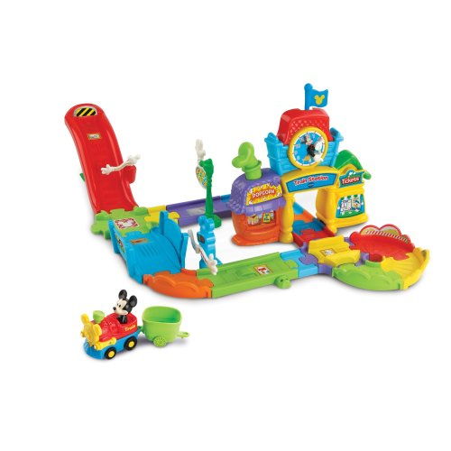 Vtech Toot-Toot Drivers Disney Mickey Choo-Choo Express With Mickey Train Ages 1- 3 Years
