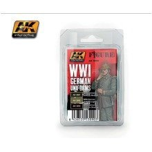 Ak03090 - Ak Interactive Set Wwi German Uniforms