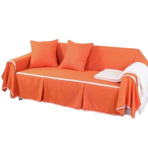 3 Seat Sofa Slipcover Elegant Couch Cover Furniture Protector #17