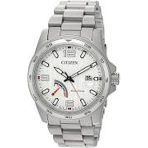 Citizen Eco-Drive PRT Stainless Steel Mens Watch AW7031-54A