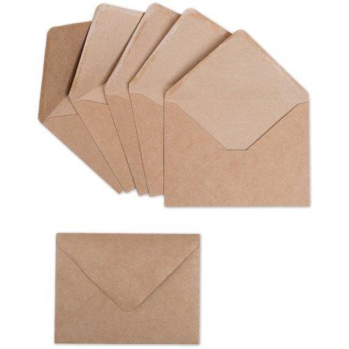 Sizzix Paper Envelopes A2 6/Pkg-Kraft