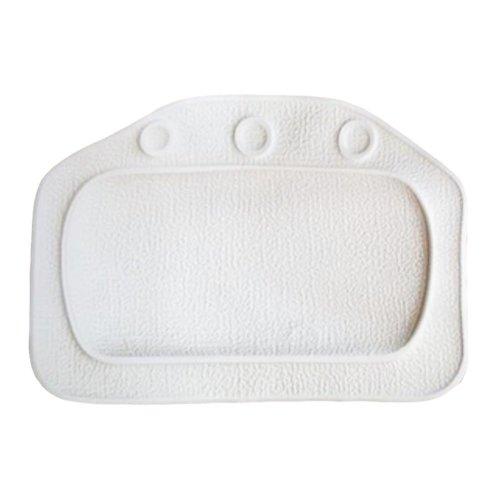 Waterproof Bath Spa Pillow - White