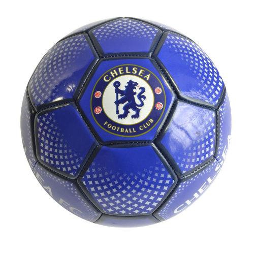 Chelsea FC Diamond Official Supporter Football Soccer Ball Blue - Size 5