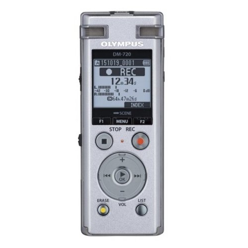 Olympus DM-720 + ME-30 + CS150 + E39 Internal memory Black dictaphone