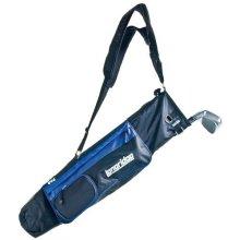"Longridge 5"" Pencil Golf Bag - 5 Strap Lightweight Dual Blackblue -  bag longridge pencil 5 golf strap lightweight dual blackblue"