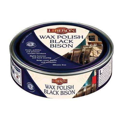 Liberon 070751 Wax Polish Black Bison Victorian Mahogany 150ml