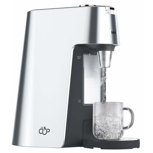 Breville HotCup Hot Water Dispenser with Height Adjust and Variable Dispense, 2.0 Litre, Silver