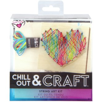 Chill Out & Craft String Art Kit-