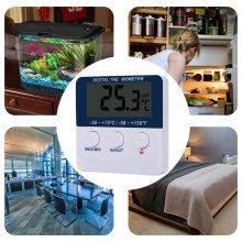 LCD Digital Display Home Fish Tank Temperature Measurement