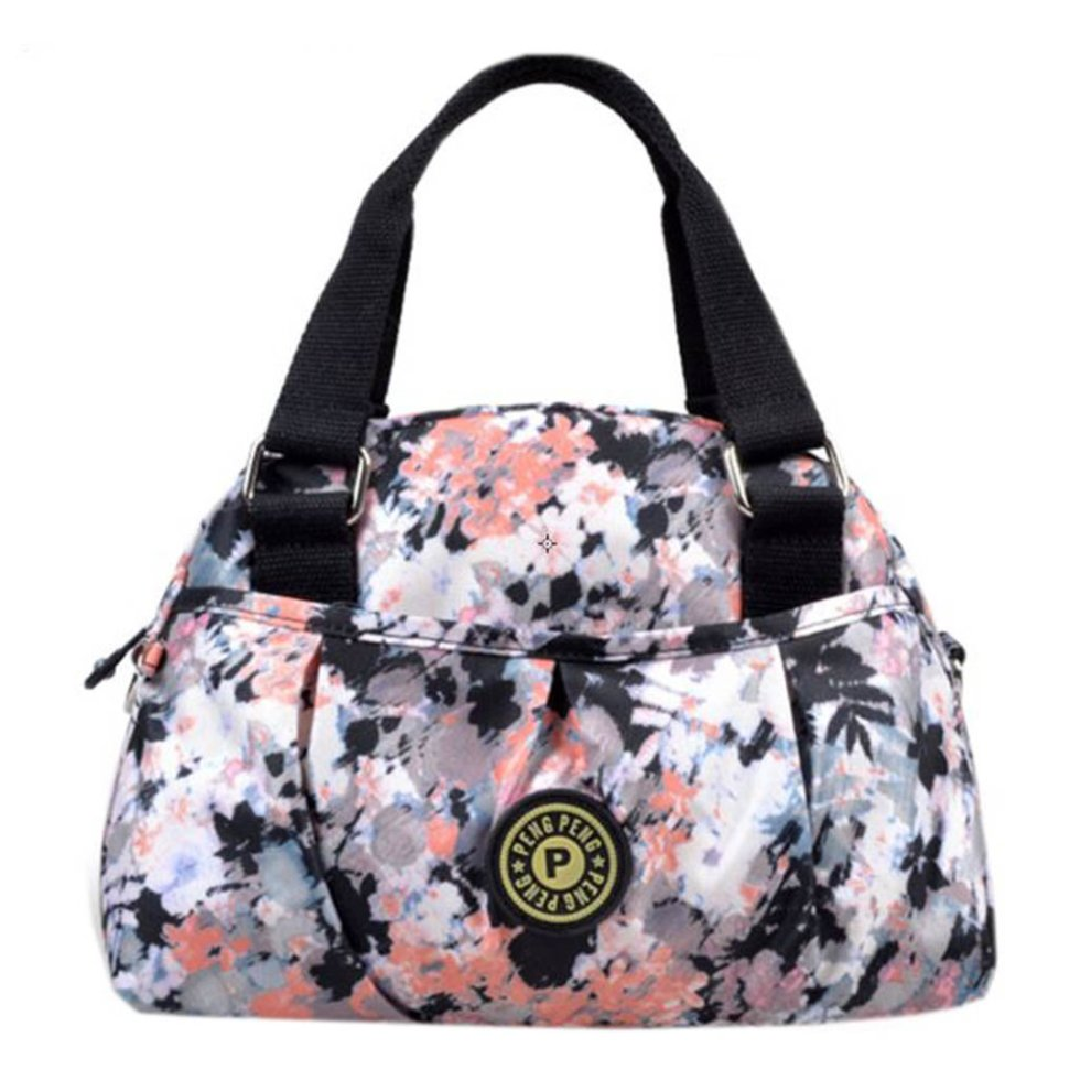 07afa2ff2 Women Waterproof Zipper Tote Bag Handbag Messenger Bag, Multicolored#3 on  OnBuy