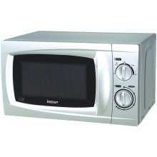 Igenix Ig2807 Manual 20 Litre 700w Pull Handled Turntable Microwave - Silver