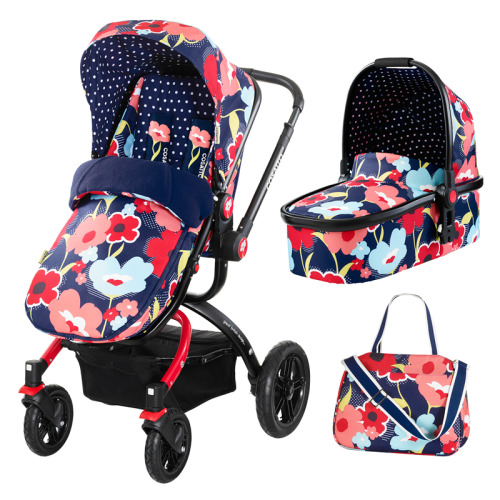 Cosatto Ooba Carrycot, Pram & Pushchair | Multi-Use Pushchair
