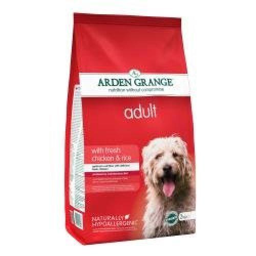 Arden Grange Dog Adult Chicken & Rice, 6kg