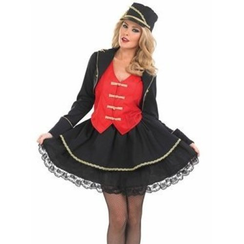 Drum Majorette - ladies costume fancy dress outfit