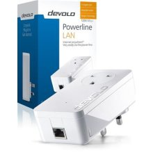 devolo dLAN 1200+ Add-On Powerline Adapter (1 GB LAN Port, Pass Through, 1200 Mbps), fast home network, range + technology, easy configuration