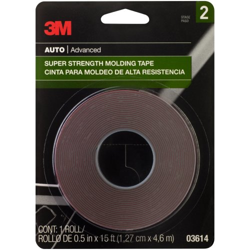 "3M Super Strength Molding Tape .5""X15'-"