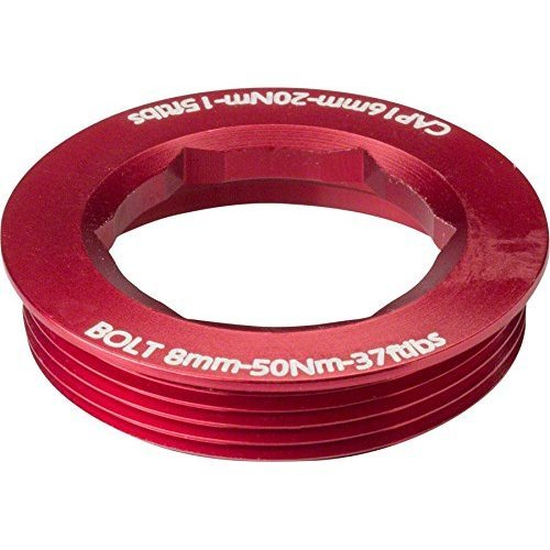 RaceFace CINCH Puller Cap with Washer 18mm XC AM Red