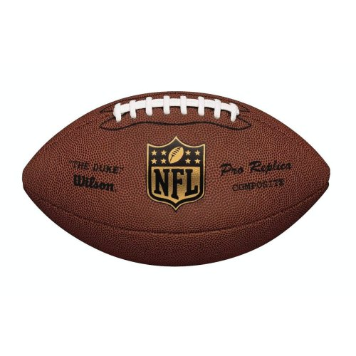 WILSON NFL Duke American Football Ball Brown Official Size