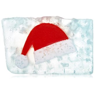 Primal Elements Cut Loaf Soap, Santas Cap, 80 Ounce