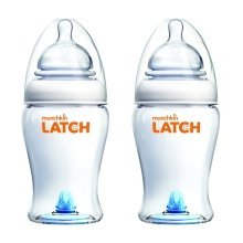 Munchkin 240ml Latch Bottle (pack of 2)
