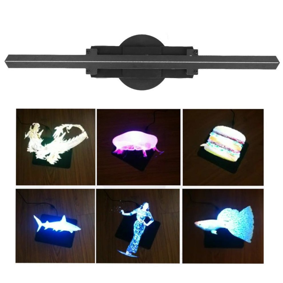 LED 3D Advertise Wifi Projector Holographic Display Hologram Player