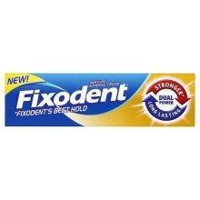 35ml Denture Adhesive Cream -  fixodent adhesive cream dual power denture 40g plus full partial