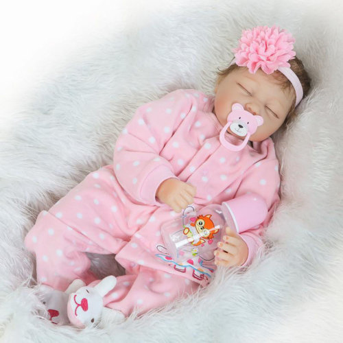 55cm Sleeping Reborn Baby Doll Lifelike Baby Doll