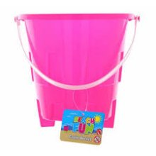 Castle Design Beach Bucket -  castle design beach bucket